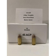 45 ACP 145gr. on Once-Fired Brass [Box of 50]
