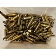 5.56 Primed Once Fired  Brass (100 count)