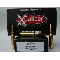308 WIN 225gr Sub-Sonic Hor. HPBT [Box of 20]