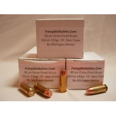 10 mm 135gr. Frangible FP Non-Toxic [Box of 50] Once-Fired Brass