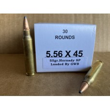 5.56x45 55gr. Soft Point [Box of 30]