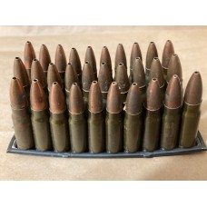 7.62x39 122gr HP 30 rounds on 10 round stripper clips