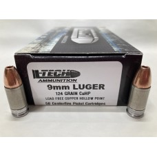9mm Luger 124gr HP [Box of 50]