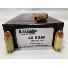 40 S&W 180gr. HP (50 Count)