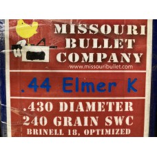44 MAG 240gr. SWC (500 Count) Elmer Keith