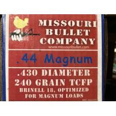 44 MAG 240gr. TCFP (500 Count)