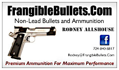 Frangible Bullets